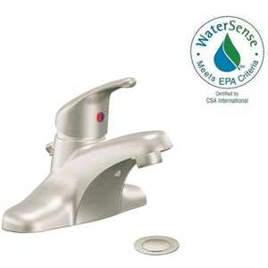 Cleveland Faucet Group CA40712BN Cornerstone 4 in. Centerset Single-Handle Bathroom Faucet in Brushed Nickel
