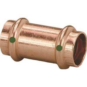 Viega 78192 ProPress 1-1/2 in. x 1-1/2 in. Copper Coupling No Stop