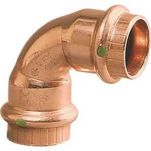 Viega 77037 1-1/2 in. x 1-1/2 in. Copper 90 Degree Elbow