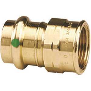 Viega 79365 1-1/2 in. x 1-1/2 in. Zero Lead Bronze Adapter