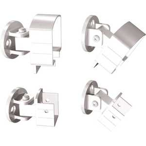 Peak Products 50900 White Aluminum Universal Connector