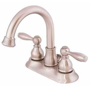 Premier 3583688 Muir 4 in. Centerset 2-Handle High-Arc Bathroom Faucet in Brushed Nickel