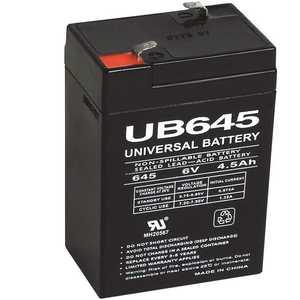 UPG UB645 6-Volt 4.5 Ah Rechargeable Sealed Lead Acid SLA Battery