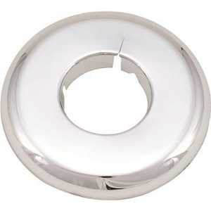 Proplus 231401 1/2 in. x 0.39 in. Plastic Escutcheon Chrome Plated