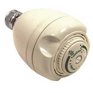 NIAGARA N2925N 3-Spray 2.7 in. Single Wall Mount Low Flow Fixed Adjustable Shower Head in White