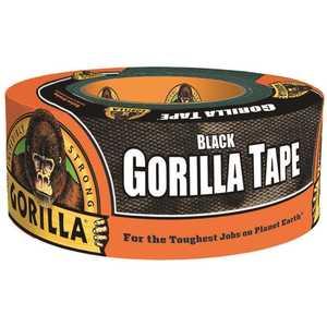 Gorilla 60012 1.88 in. x 12 yd. Black Tape