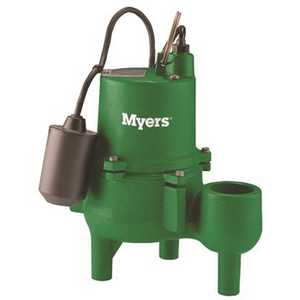 Myers 26236D010 0.4 HP Cast Iron Sump Pump