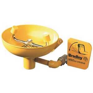 Bradley S19-220 Eyewash Fixture With Wall Bracket
