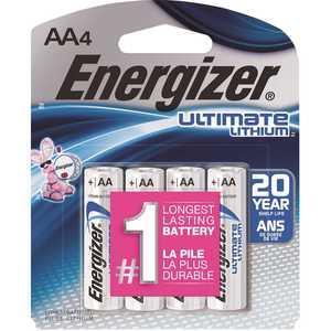 Energizer L91SBP-4 Ultimate Lithium AA Battery