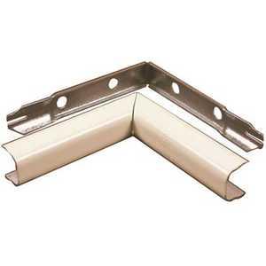 Legrand V517 2-3/4 in. 90-Degree Single-Channel Steel Internal Elbow Fitting, Ivory