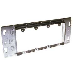 Hubbell Commercial Construction 823 4-Gang Box Device Cover with 3/4 in. Raised