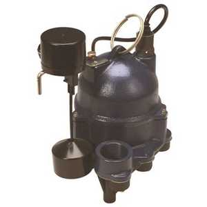 Myers MDC33V1 1/3 HP Residential Vertical Sump Pump with Piggyback Plug