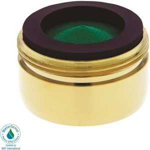 NEOPERL 5414203 Perlator 1.5 GPM 15/16 in. 27 Regular Male Faucet Aerator Polished Brass
