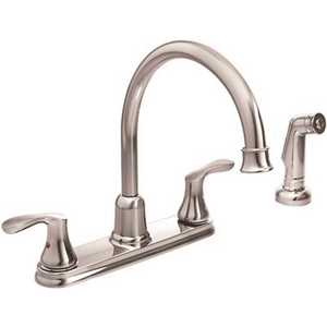 Cleveland Faucet Group 40619 Cornerstone 2-Handle Standard Kitchen Faucet in Chrome