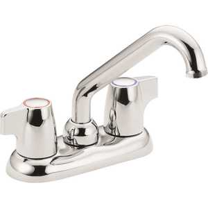 Moen 74998 Chateau 4 in. Centerset 2-Handle Utility Faucet in Chrome