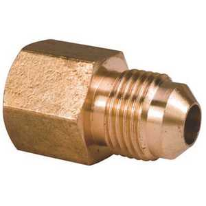 Proplus 46-6-2 3/8 in. x 1/8 in. FIP Brass Flare Female Connector