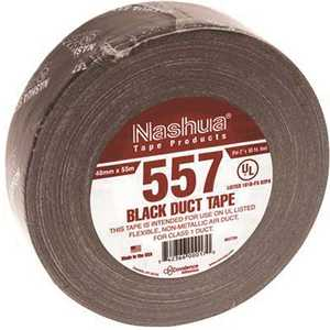 1.89 in. x 60 yds. UL181B FX Listed Duct Tape in Black