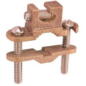 THOMAS & BETTS JDLI 1/2 in. - 1 in. Bronze Lay-In Ground Clamp