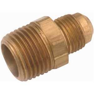 Proplus 48-8-6 1/2 in. x 3/8 in. MIP Brass Flare Connector