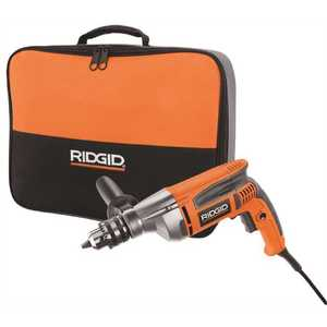 RIDGID R71111 8 Amp Corded 1/2 in. Heavy-Duty Variable Speed Reversible Drill