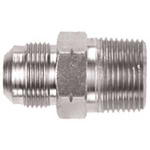 Watts 90-3041 Stainless Steel Gas Connector Adapter 3/4 in. MNPT x 5/8 in. M-Flare