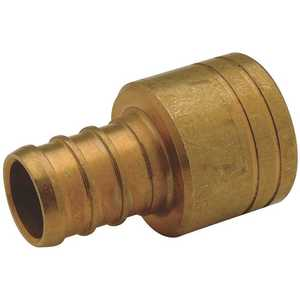 Zurn QQ775CX 3/4 in. Female Sweat x 3/4 in. Barb PEX Copper Sweat Female Adapter