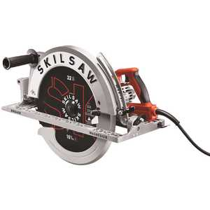 SKILSAW SPT70V-11 16-5/16 in. 15 Amp Corded Electric Magnesium Worm Drive Circular Saw with 32-Tooth Carbide Blade