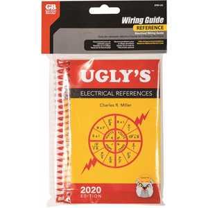 Gardner Bender ERB-UG Ugly's Electrical References Revised 2020 Edition