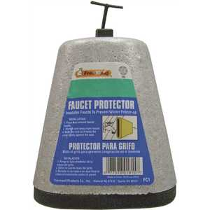 Frost King FC1 Outdoor Foam Oval Faucet Cover