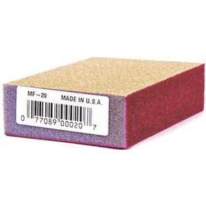 Linzer MF-20 MED/FINE 4 in. x 2-5/8 in. x 1 in. Medium/Fine Sanding Sponge