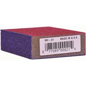 Linzer MC-21 MED/COARSE 4 in. x 2-5/8 in. x 1 in. Medium/Coarse Sanding Sponge
