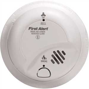 First Alert SCO2B Combination Smoke and Carbon Monoxide Alarm with 9-Volt Battery