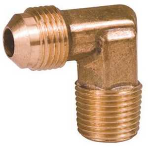 Proplus 49-6-12 3/8 in. X 3/4 in. MIP Brass Flare Male 90-Degree Elbow