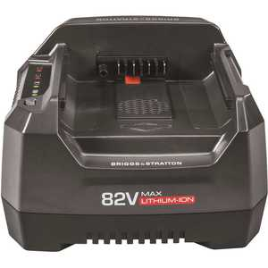 Briggs & Stratton 1760263 82-Volt MAX Lithium-Ion Battery Rapid Charger