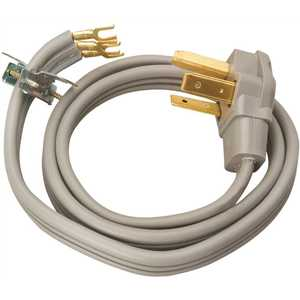 Southwire 9124SW8809 4 ft. 10/3 Flat Dryer Cord Gray