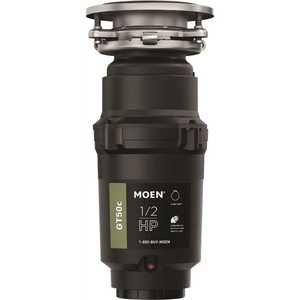 Moen GT50C GT Series 1/2 HP Continuous Feed Garbage Disposal