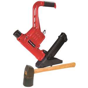 Porta-Nails 3-in-1 Pneumatic Nailer and Stapler with Case for Wood Flooring