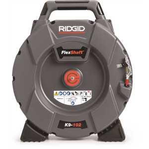 Ridgid Tool Company 64263 FlexShaft K9-102 1-1/4 in. - 2 in. Drain Cleaning Machine