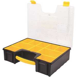 Stanley STST14710 10-Compartment Deep Pro Small Parts Organizer