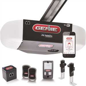 Genie 7155-TV 1 HPC Ultra-Quiet Belt Drive Smart Garage Door Opener with Battery Backup and Aladdin Connect Smart Home