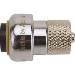 Tectite FSBFAU14 1/4 in. (3/8 in. O.D.) x 1/4 in. Chrome Compression Stop Valve Connector