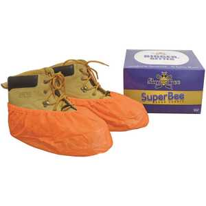 SHUBEE D SB SC BEE 151 SuperBee Orange Disposable Shoe Covers