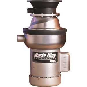 Waste King 1000-1 Commercial Disposal 1 HP Single Phase Feed Garbage Disposal