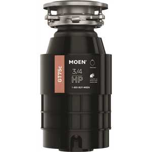 Moen GT75C GT Series 3/4 HP Continuous Feed Garbage Disposal