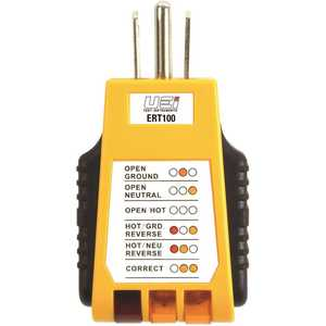 UEI TEST INSTRUMENTS ERT100 Electrical Receptacle Tester