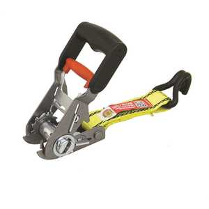 ProGrip 330600 B.O.T. 16 ft. x 1-1/4 in. 3,000 lbs. Tie Down with Ratchet and J-Hooks