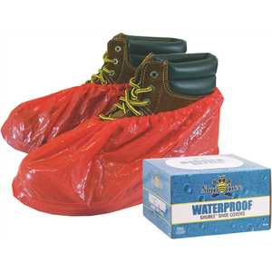 SHUBEE C SB SC WP RD Red Weatherproof Shoe Covers