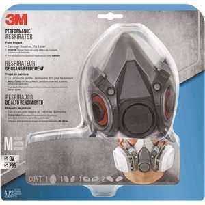 3M 6211PA1-A Medium Paint Project Respirator Mask