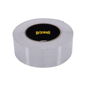 Brixwell AFT20050 Aluminum Foil Tape 2 Inch x 50 Yards Multi-Purpose Professional Grade Made in USA