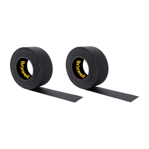 Brixwell GF255MBLK-XCP2 2 Rolls - Gaffer Tape Matte Black Professional Grade 2 Inch x 55 Yards Heavy Duty Gaffers Tape Non-Reflective Multipurpose Made in the USA